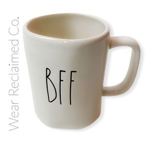 "RAE DUNN - Coffee Mug ""BFF"""